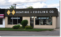 Store Front Image Of DG Building Location For AC Repair Detroit -  D & G Heating & Cooling, Inc.