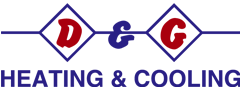 D&G Heating and Cooling Logo